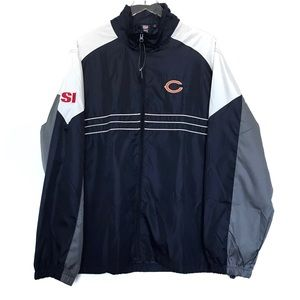 NFL Chicago Bears Full Zip Windbreaker